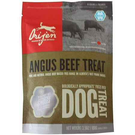 Orijen Freeze-Dried Angus Beef Dog Treats, 3.5 oz