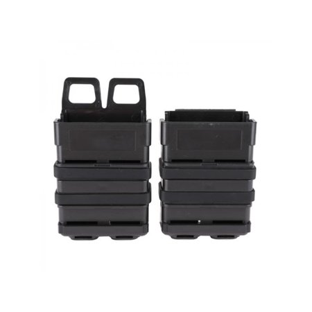 Topumt Molle Fast Holder Mag Pouch 5.56 Double Magazine Bag Airsoft Rifle Mag Set - Air Mags Fake