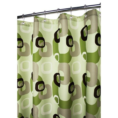 WATERSHED 72X72 GEO SQUARES SHOWER CURTAIN