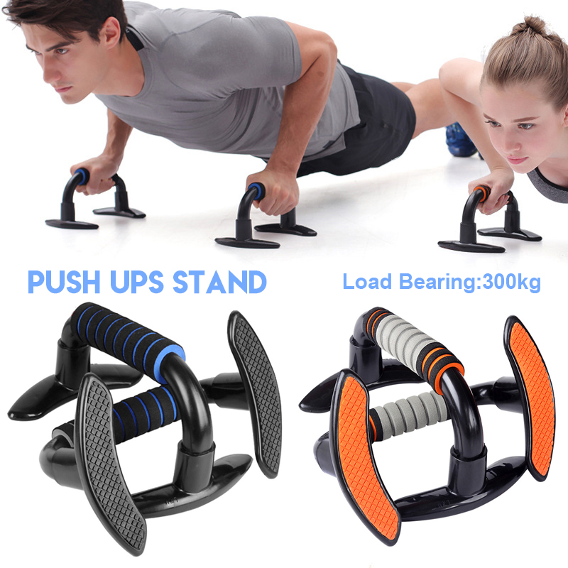 Multi-Functional for Roller Wheel /&Push Up Handle for Whole Body Workouts Pushup Bars for Men Portable Push Up Handles for Floor Total Pushup with Non-Slip