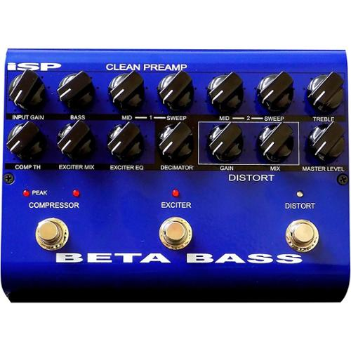 ISP Technologies Beta Bass Preamp Pedal by ISP Technologies