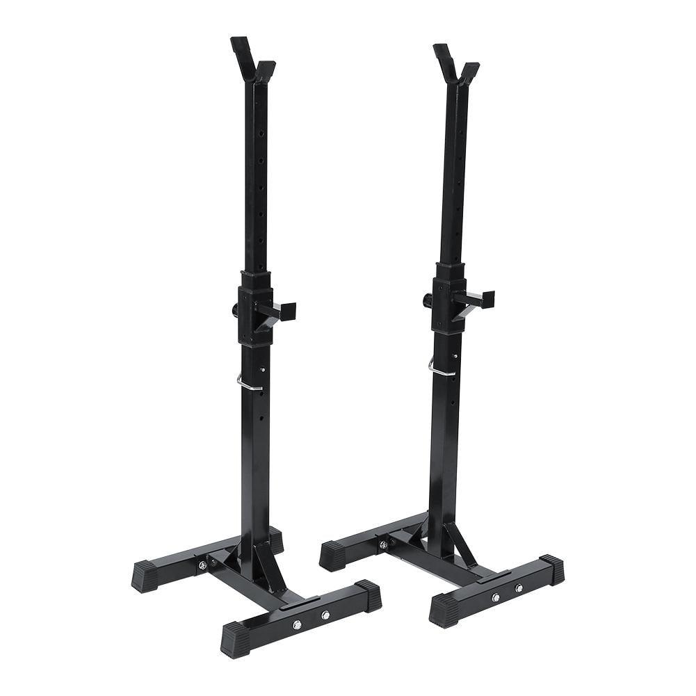 Weight Rack Walmart: Adjustable Triangle Bracket Power Lifting Squat Rack