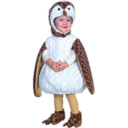 White Barn Owl Toddler Costume