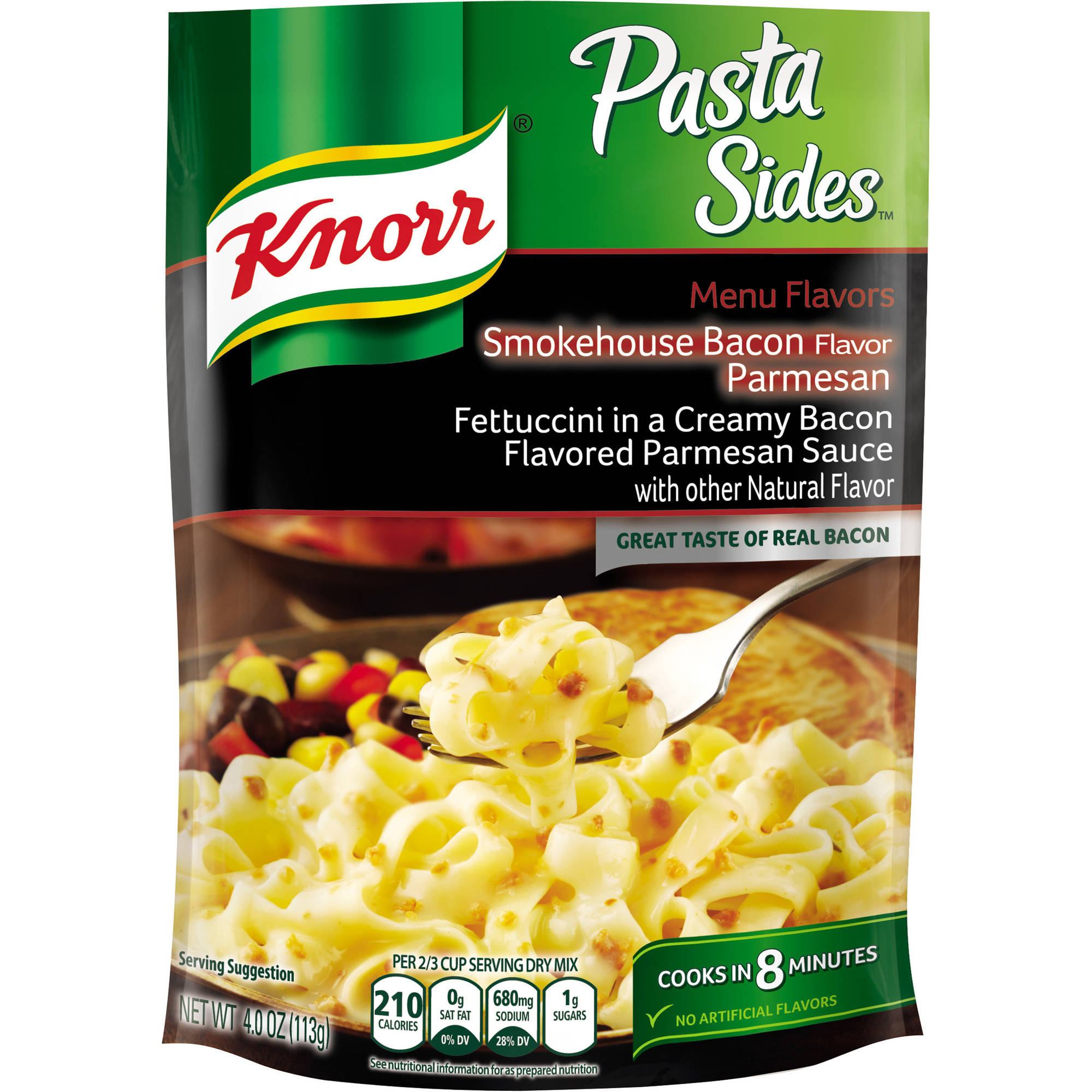 Knorr Smokehouse Bacon Parmesan Pasta Side Dish 4 oz