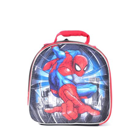 MARVEL SPIDERMAN DOME SHAPED INSULATED LUNCH BAG - LUNCH BOX](Spiderman Lunch Box)