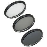 5-Piece Digital Filter Kit, 67mm (UV, CPL, ND4, Lens Cap Keeper, Carry Case)