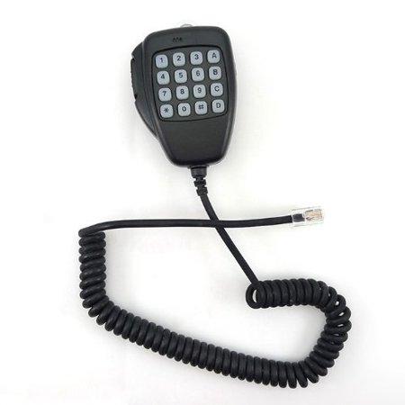 Tenq Modular 8 Pin Handheld Remote Speaker Dtmf Keypad Mic Microphone for Icom Radio Ic_f1821 Ic_2000_h Ic_2100h Ic_2200h (Pink Keypad)