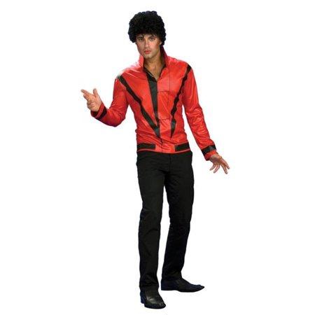 Costumes pour toutes les occasions Ru889348Lg Mj Rd Thriller Jckt Dlx Adl Lg - image 1 de 1