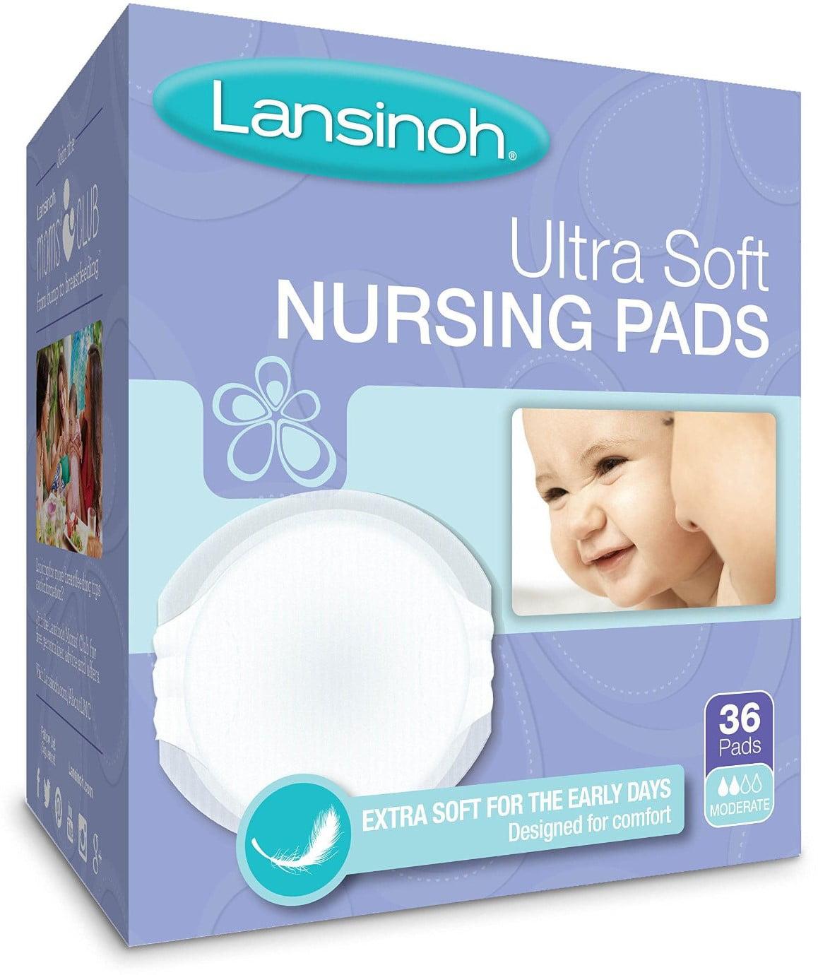6 Pack Lansinoh Nursing Pads Disposable Ultra Soft 36 Each by Lansinoh