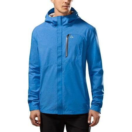 Paradox Mens Waterproof Breathable Rain Jacket   Cobalt Blue