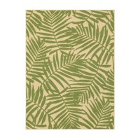 Product Image Mainstays Palm Indoor Outdoor Area Rug 5 X