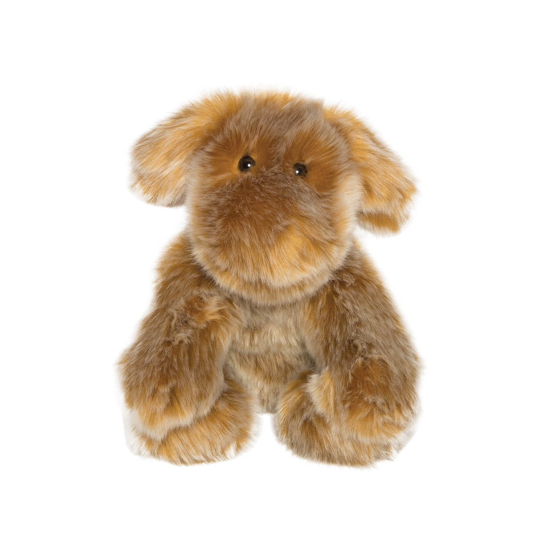 "Manhattan Toy Luxe Saffron 11"" Stuffed Animal Dog Plush Toy"