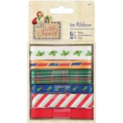 Papermania Letter To Santa Ribbon 6/Pkg-1m Each