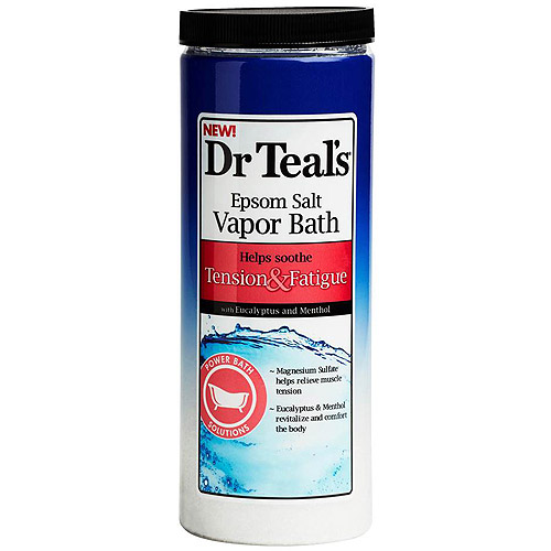 Dr. Teal's Tension & Fatigue Epsom Salt Vapor Bath, 22 oz