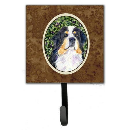 Caroline's Treasures Bernese Mountain Dog Leash Holder and Wall Hook