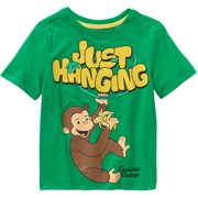 Toddler Boys' Just Hanging Graphic Tee Shirt