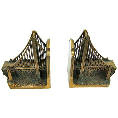 Golden gate bridge bookends san francisco for Golden gate bridge jewelry