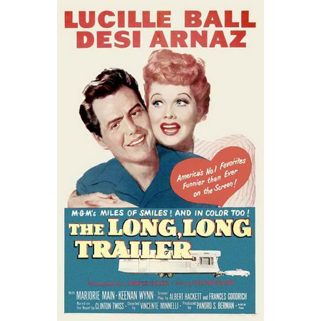The Long Long Trailer POSTER Movie (27x40) - Halloween Trailer
