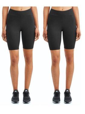 "Athletic Works 9"" Basics Bike Short 2 Pack"