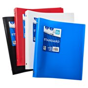 Pen + Gear 1 Inch Poly Ring Binder, Assorted Color