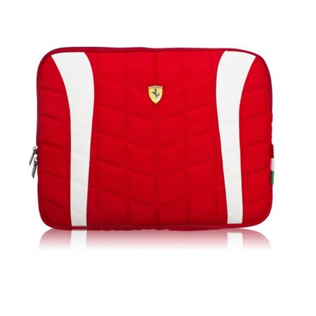Special Offer Ferrari Masters Club FECOLV2R COMPUTER SLEEVE SCUDERIA 15 inch RED Before Too Late