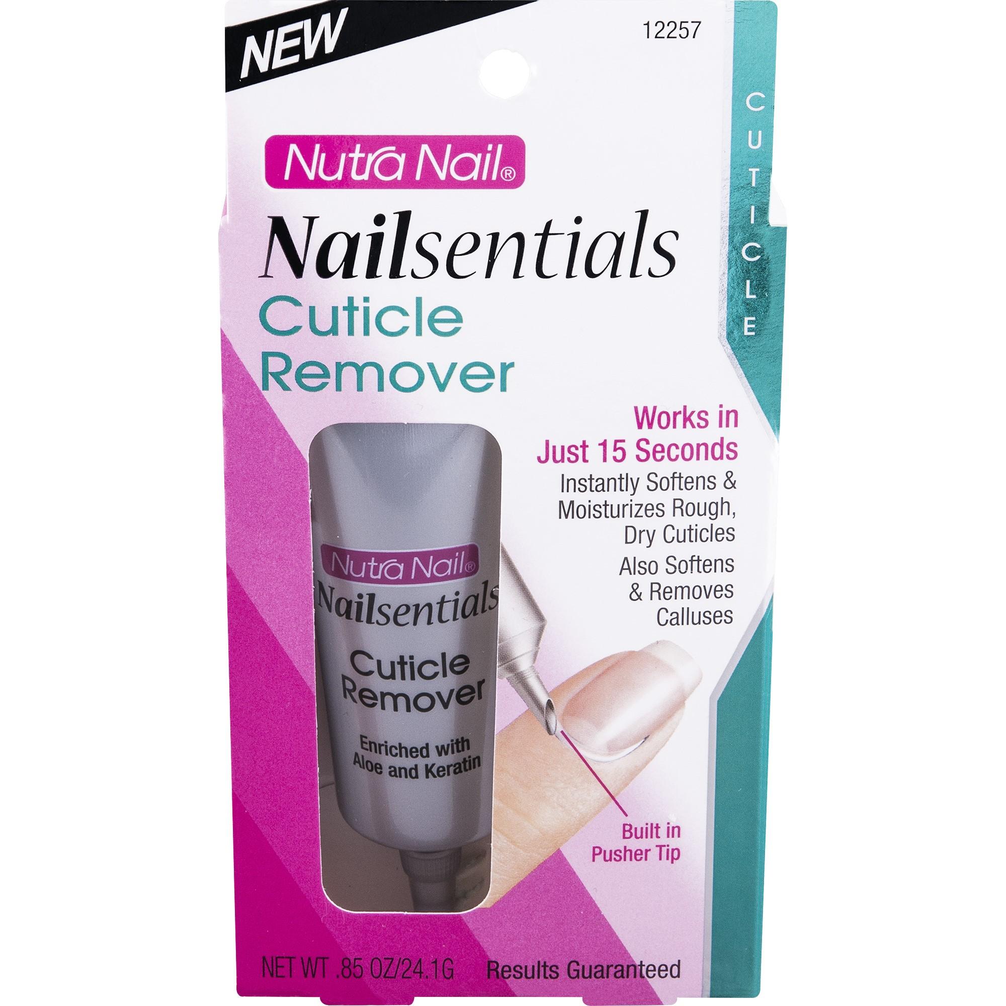 Nutra Nail Nailsentials Cuticle Remover, 0.45 Oz