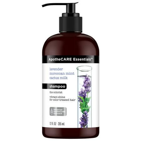ApotheCARE Essentials The Colorist Lavender, Moroccan Mint, Cactus Milk Shampoo, 12 oz