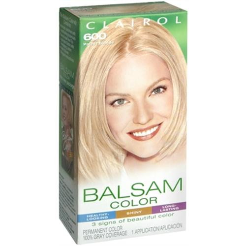 Balsam Permanent Color - 600 Palest Blonde 1 Each (Pack of 4)