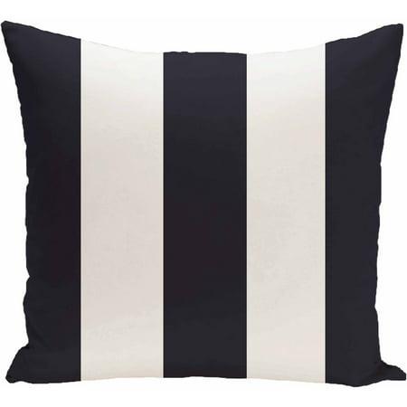 Simply Daisy Stripe Print Decorative Pillow, 16