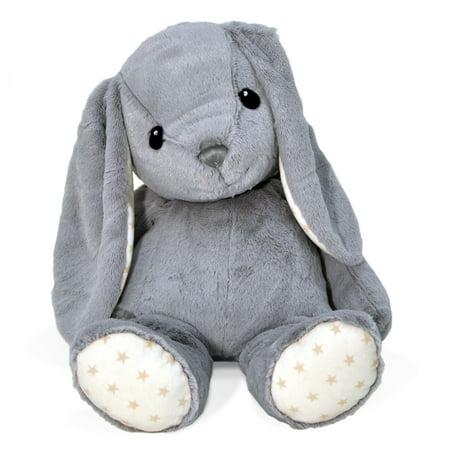 "Cloud B Dreamy Hugginz Plush Large 22"" Grey Bunny"