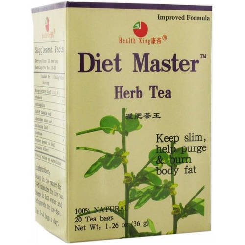 Health King Heath King Diet Master Herb Tea, 20 CT