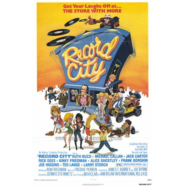 Posterazzi MOVAH8300 Record City Movie Poster - 27 x 40 in. - image 1 de 1