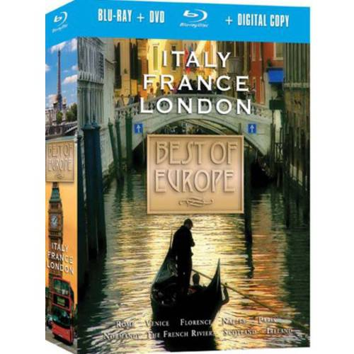 Best Of Europe Collection (Blu-ray + DVD)