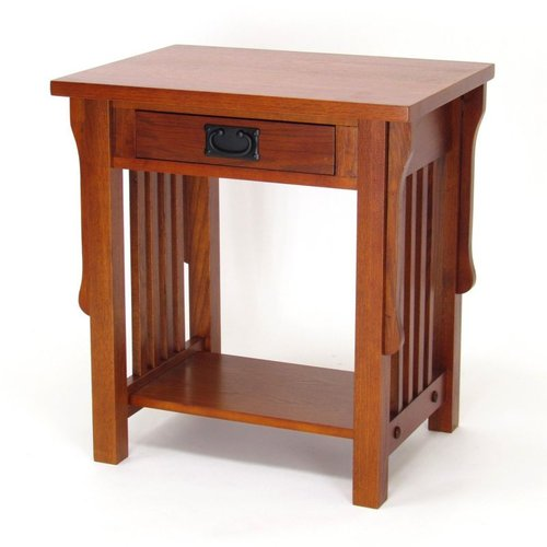 Wayborn Furniture 9070 Oak Nightstand