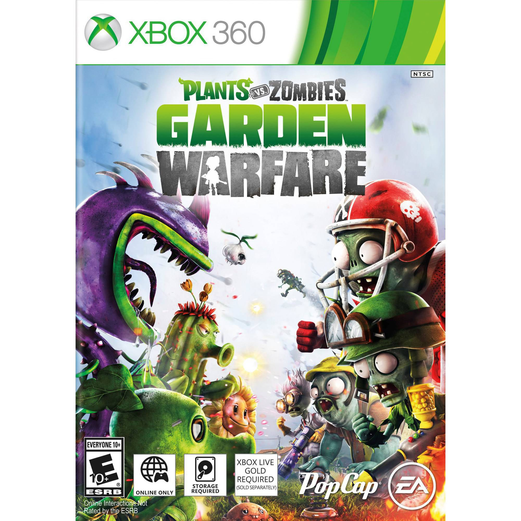 Plant Vs Zombie Garden Warfare (Xbox 360) - Pre-Owned