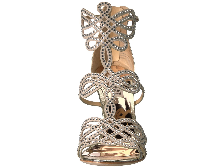 BADGLEY MISCHKA Open Damenschuhe Teri Leder Open MISCHKA Toe Bridal Ankle b1d545