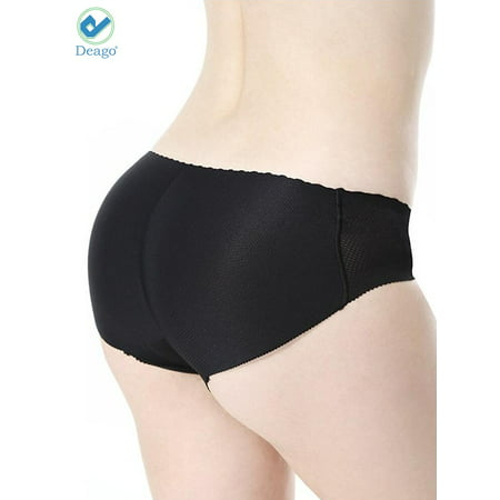 14fe5f138 Deago - Deago Women s Sexy Padded Seamless Butt Lifter Briefs Hip Enhancer  Body Shaper Panties Underwear