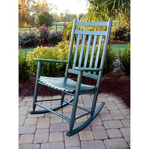 Dixie Seating Indoor/Outdoor Slat Rocking Chair - Fashion Colors