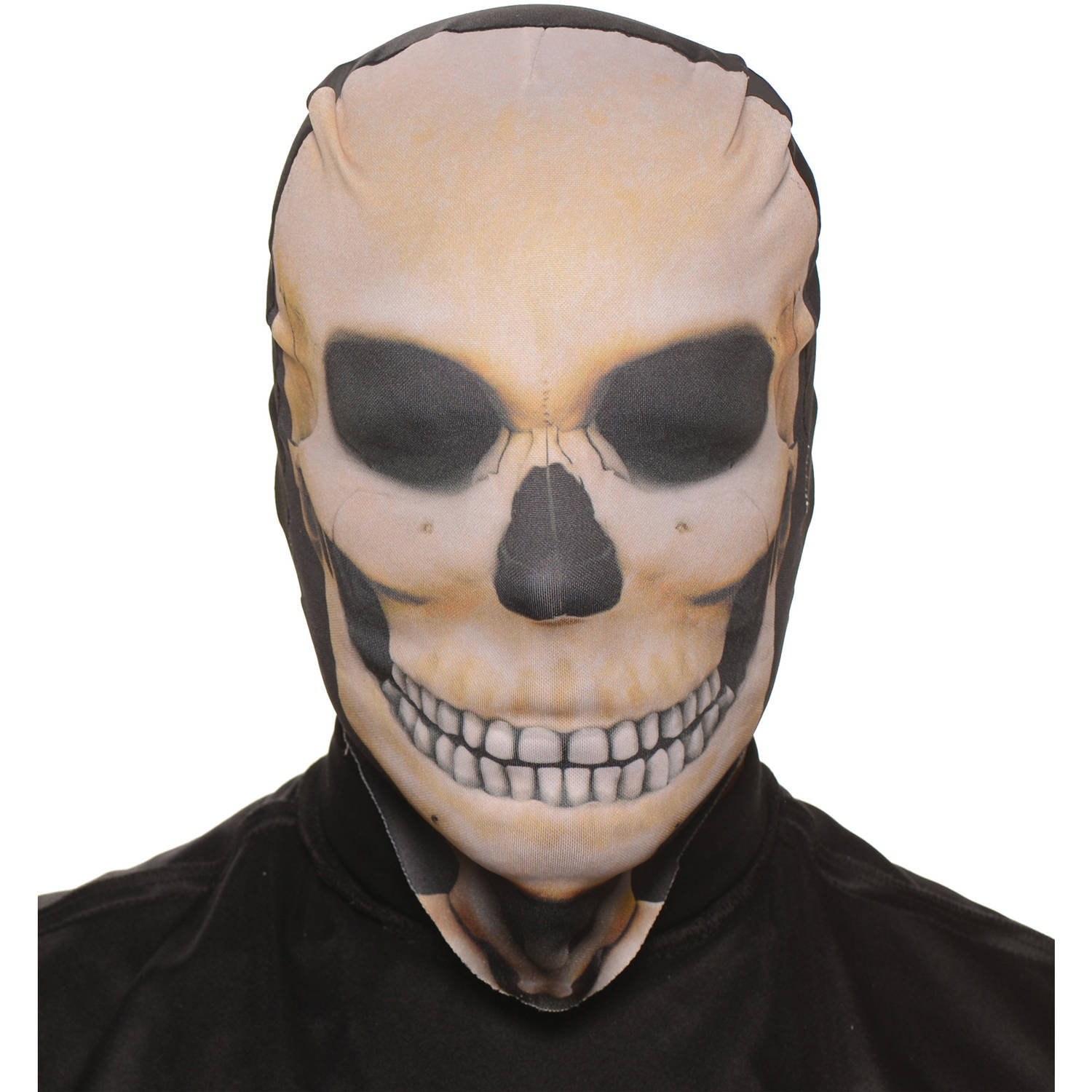 Skull Skin Mask Adult Halloween Accessory