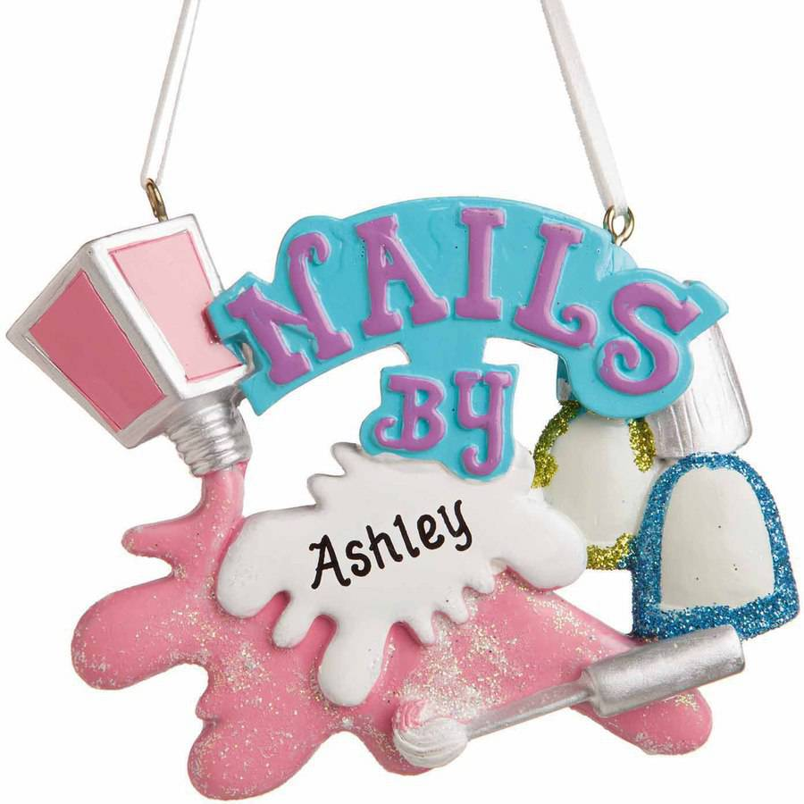Personalized Manicurest Ornament