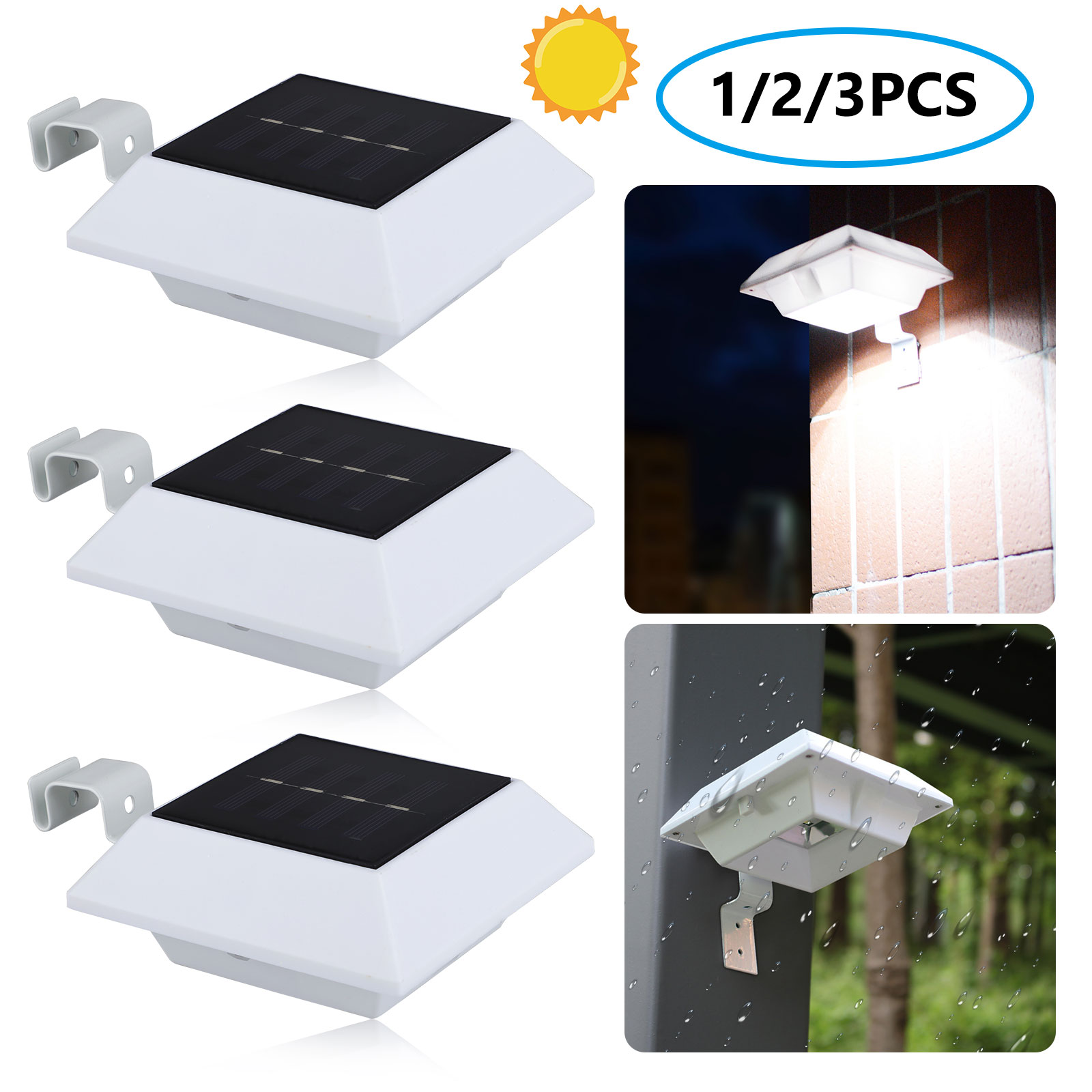 5 Color Brand new Solar powered LED Lights for Garden Driveway Decking Anywhere