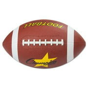 Champion Sports RFB1 Rubber Sports Ball, Football, Official Nfl, No. 9, Brown