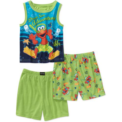 Seasame Street Baby Boys' Elmo 3 Piece T