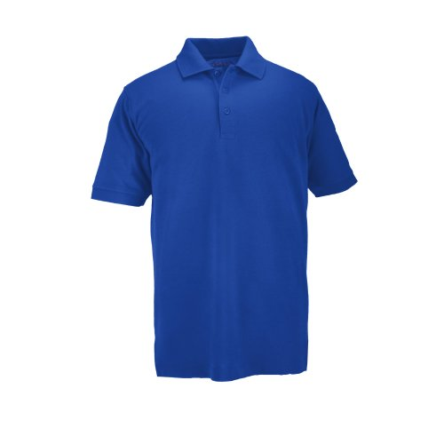 5.11 Tactical Short Sleeve Professional Polo Shirt, Academy Blue