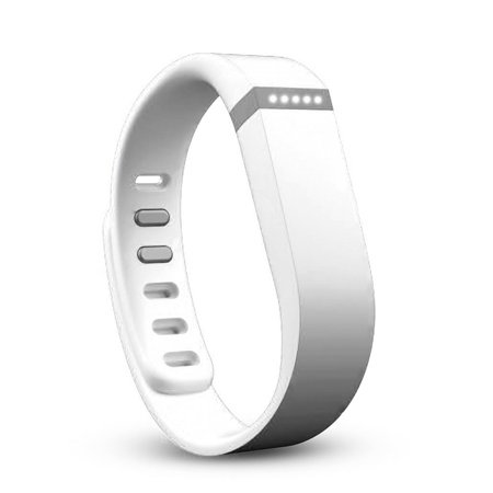 TSV Large White Replacement Accessory Band for Fitbit Flex Wireless Activity and Sleep Wristband Fitness Smart