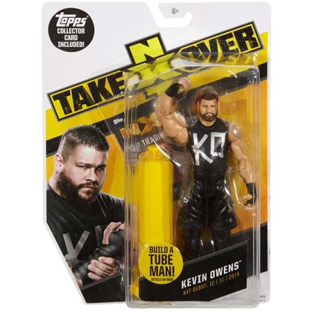 Tube Map (WWE Wrestling NXT Takeover Kevin Owens Action Figure [Build A Tube Man!])
