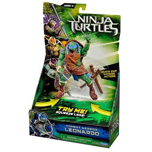 Teenage Mutant Ninja Turtles Movie 6 Inch Action Figure Deluxe Series - Leonardo