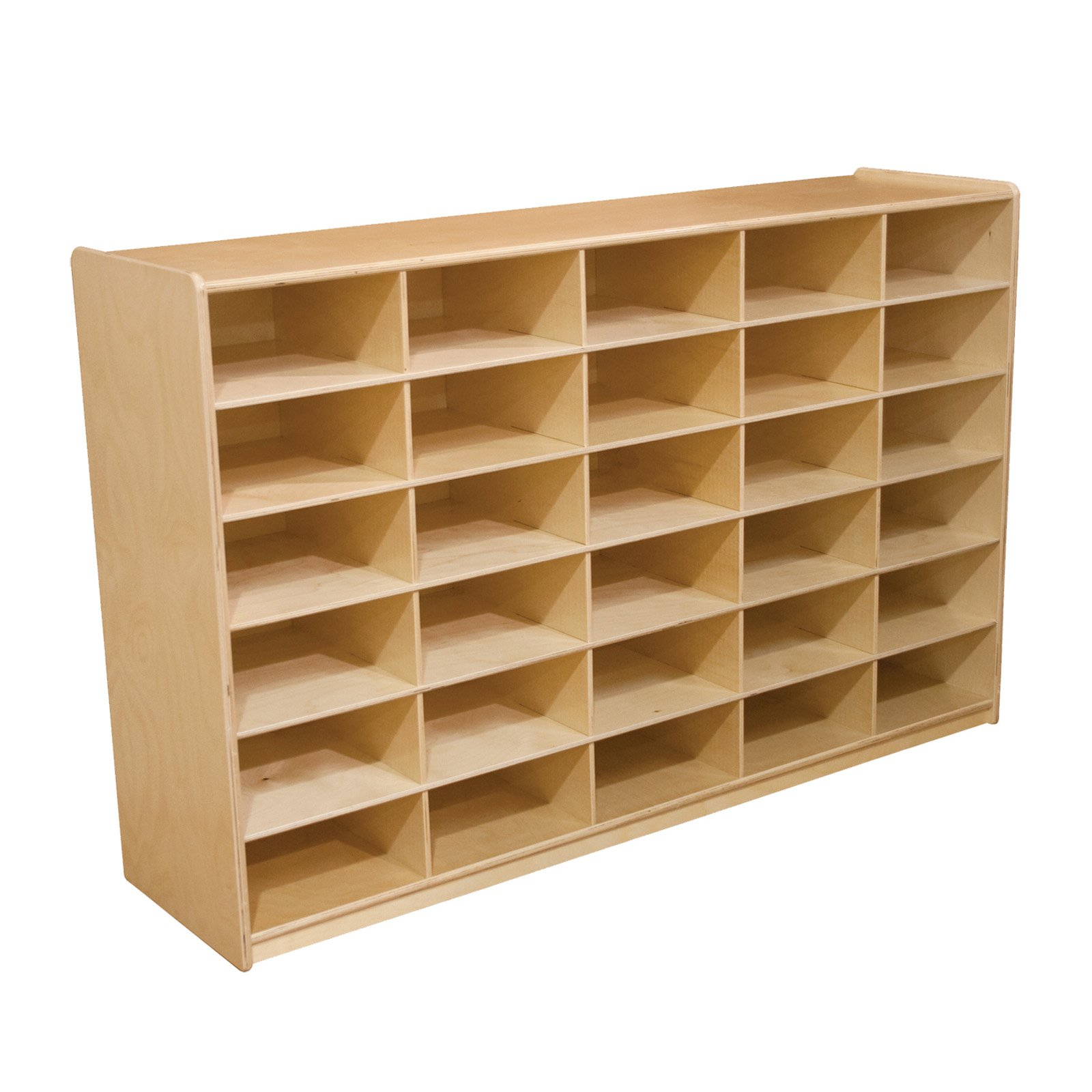 Wood Designs 30 Letter Tray Storage Unit without 5 in. Trays