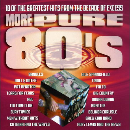 More Pure 80's (CD) - Candy From The 80's