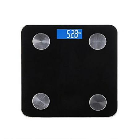 Co Z Premium Smart Body Weight Scale Bmi Body Fat Bluetooth Enabled Compatible With Android And Ios Devices